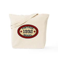 CUSTOM YEAR Vintage Model Tote Bag