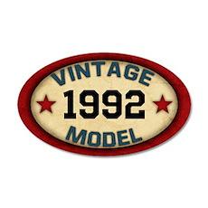 CUSTOM YEAR Vintage Model 20x12 Oval Wall Decal