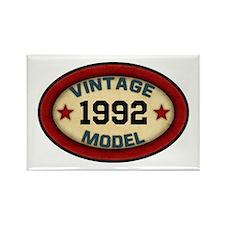 CUSTOM YEAR Vintage Model Rectangle Magnet