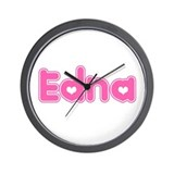 &quot;Edna&quot; Wall Clock
