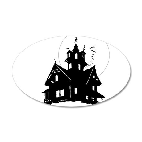 haunted house Wall Decal