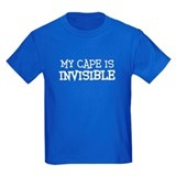 my cape is invisible KIDS T-Shirt