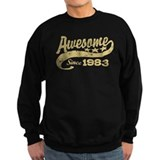 Awesome Since 1983 Sweatshirt