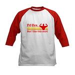 Id Flex But I Like This Shirt! Baseball Jersey