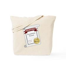Transylvania Trained Tote Bag