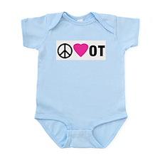 PEACE LOVE OT Body Suit