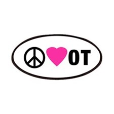 PEACE LOVE OT Patches