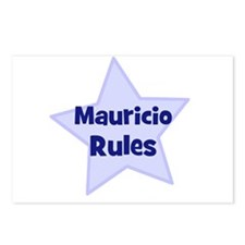 Mauricio Rules Postcards (Package of 8)