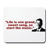 Ronald Reagan Quotes Mousepad