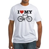 I Love My Bicycle Shirt