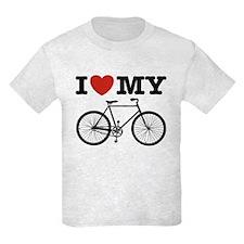 I Love My Bicycle T-Shirt