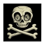 Billy Bones Tile Coaster