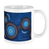 Australian Aboriginal Inspired Art Small Mug