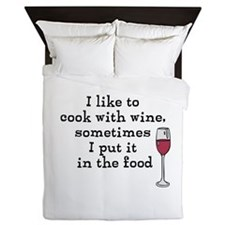 Wine Queen Duvet