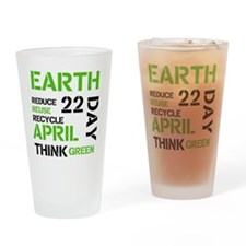 Earth Day 22 Drinking Glass