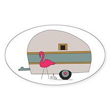 Camper Flamingo Decal
