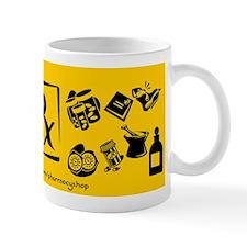 Rx (gold) Mug