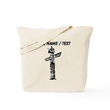 Custom Totem Pole Tote Bag