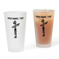 Custom Totem Pole Drinking Glass