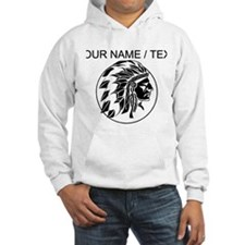 Custom Native American Headdress Hoodie