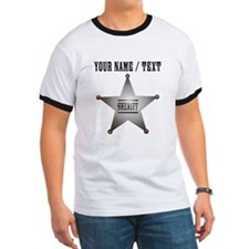 Custom Sheriff Badge T-Shirt