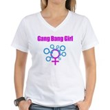 Gang Bang Girl - Front T-Shirt