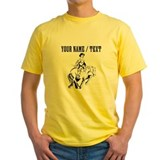 Custom Cowboy On Horse T-Shirt