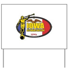 Iowa Des Moines Mission - Iowa Flag - LDS Mission