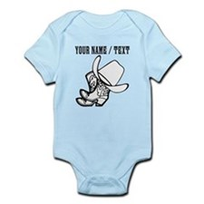 Custom Cowboy Hat And Boots Body Suit