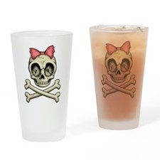 Betty Bones Drinking Glass