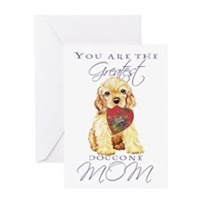Cocker Mom Greeting Card