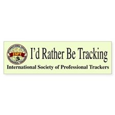 ISPT Patch Design Bumper Bumper Sticker