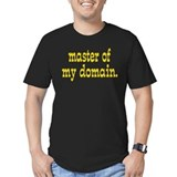 """Master of My Domain"" Black T-Shirt"