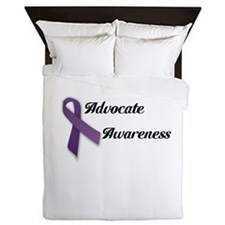 Domestic Violence Queen Duvet
