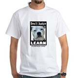 dontjudgelearn4.jpg T-Shirt