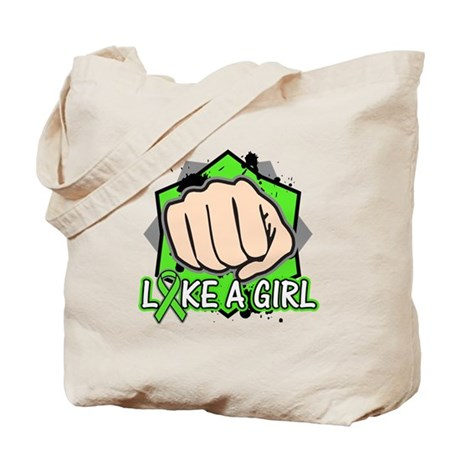 Non-Hodgkins Lymphoma Punch Fight Tote Bag