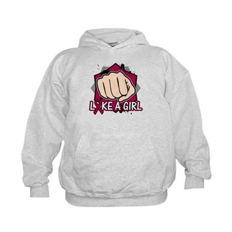 Multiple Myeloma Punch Fight Kids Hoodie