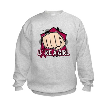Multiple Myeloma Punch Fight Kids Sweatshirt