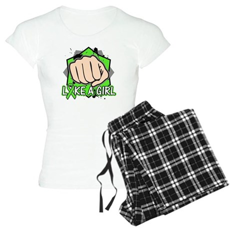 Lymphoma Punch Fight Women's Light Pajamas