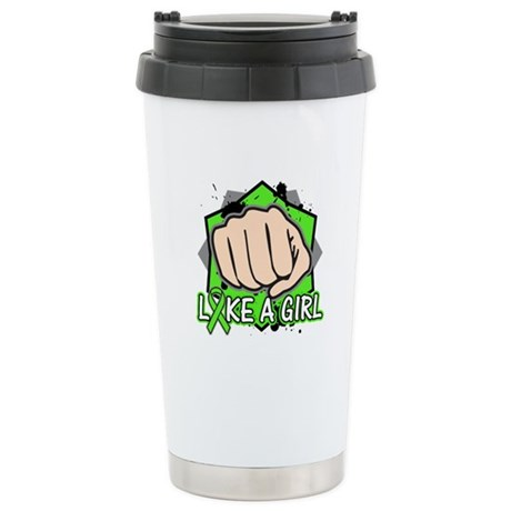 Lymphoma Punch Fight Ceramic Travel Mug