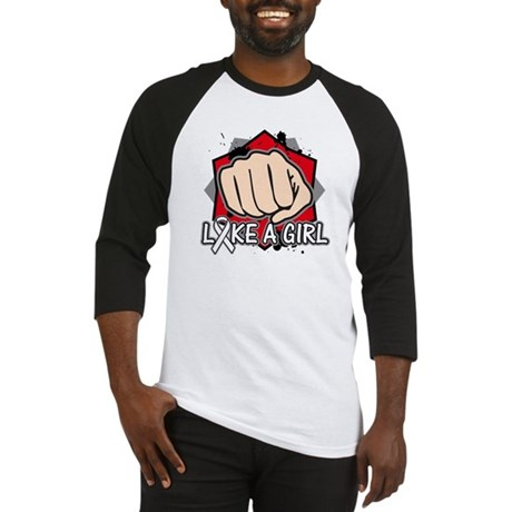 Lung Cancer Punch Fight Baseball Jersey