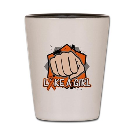 Leukemia Punch Fight Shot Glass