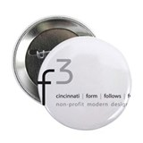 "cf3 cincinnati form follows function 2.25"" Button"