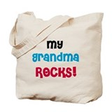 My Grandma Rocks Tote Bag