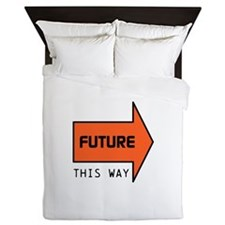 FUTURE THIS WAY Queen Duvet