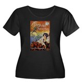 Thuvia Maid of Mars 1920 Plus Size T-Shirt