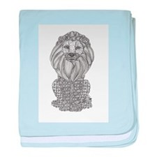 King of the Jungle baby blanket