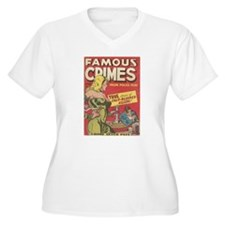 Famous Crimes Plus Size T-Shirt