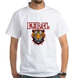 Feral Tiger Head Mens Shirt