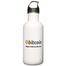 Bitcoin: Magic Internet Money! Water Bottle